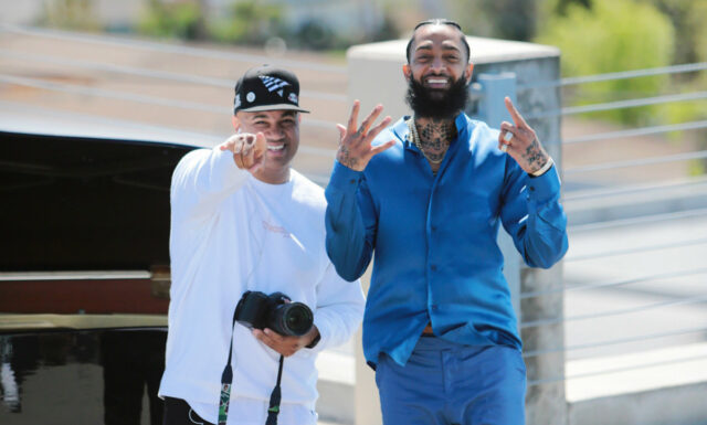 Lenny S. Remembers Nipsey Hussle in Photos